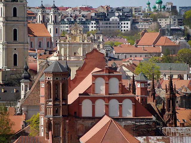 stary rynek w Wilnie